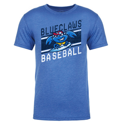 Jersey Shore BlueClaws Victory Stripe Tee