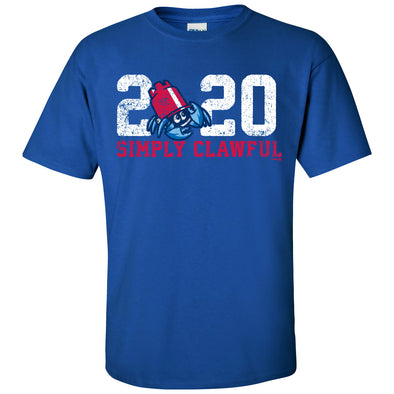 Lakewood BlueClaws 2020 Simply Clawful Tee