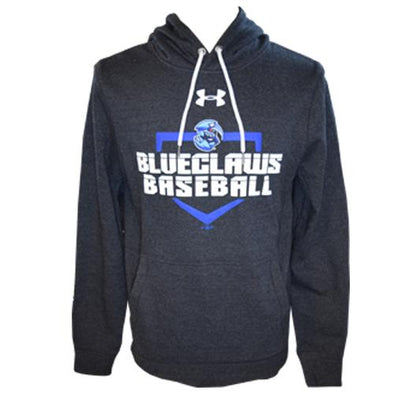 Lakewood BlueClaws UA Triblend Fleece Hood