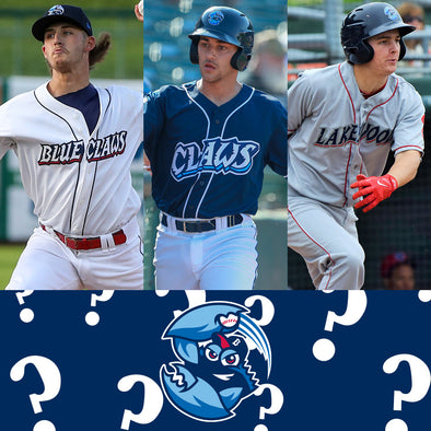Lakewood BlueClaws Mystery Jersey
