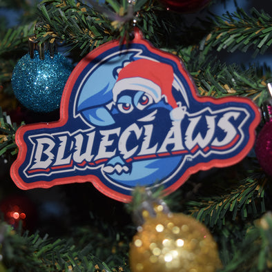 Lakewood BlueClaws Christmas Ornament