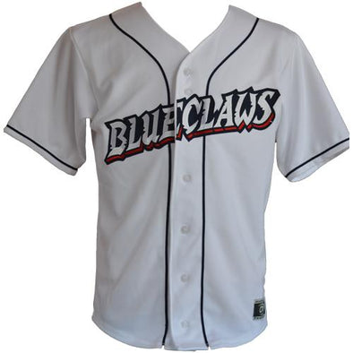 Lakewood BlueClaws Youth Home Jersey