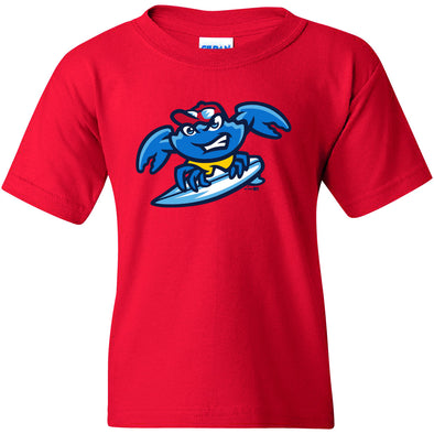Jersey Shore BlueClaws Youth Home Logo Tee