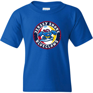 Jersey Shore BlueClaws Youth Primary Logo Tee