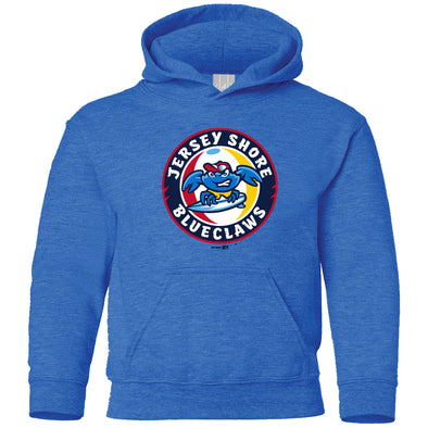 Jersey Shore BlueClaws Youth Primary Club Hood