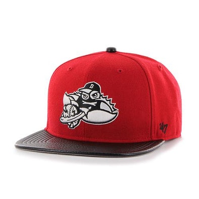 Lakewood BlueClaws Red Bump Out SNAPBACK
