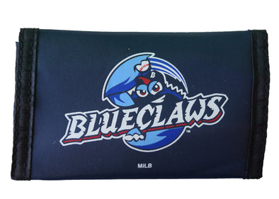 Lakewood BlueClaws Nylon Trifold Wallet