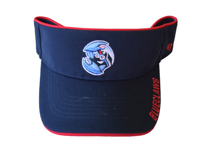 Lakewood BlueClaws Navy Top Rope Visor