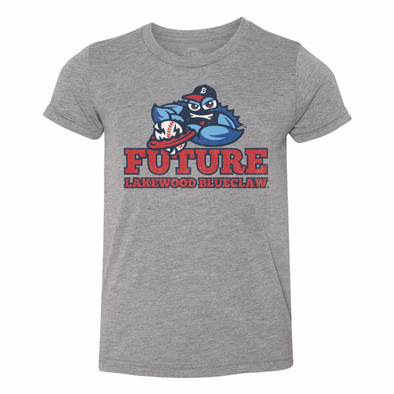 Lakewood BlueClaws Youth Future BlueClaw Tee
