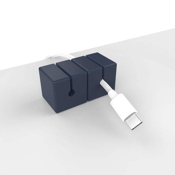CABLE BLOCKS - NAVY (4 PACK)