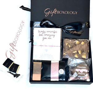 Never Enough Chocolates Gift Box - GiftBoxology UK