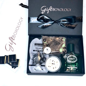 Chocolates & Pamper For Him Gift Box - GiftBoxology UK