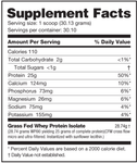 Grass Fed Whey Protein Isolate, Nutrabio, PROTEIN POWDERS