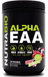 Alpha EAA 30 Servings, Nutrabio, RECOVERY & AMINO ACIDS