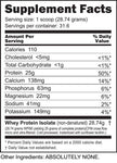 Whey Protein Isolate Natural Unflavored - Nutrishop Boca