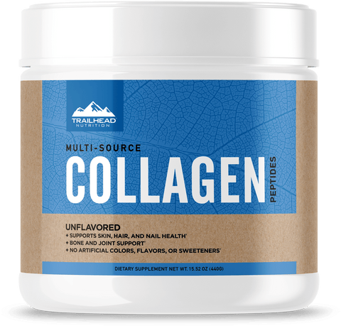 MULTI-SOURCE COLLAGEN PEPTIDES, Trailhead Nutrition
