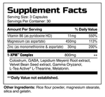 1-XPM™ Supplement Facts