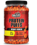Protein Puffs Mesquite Bbq, Twin Peaks Ingredients, SNACKS