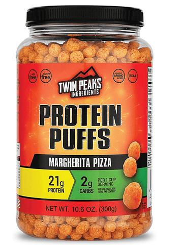 Protein Puffs Margherita Pizza, Twin Peaks Ingredients
