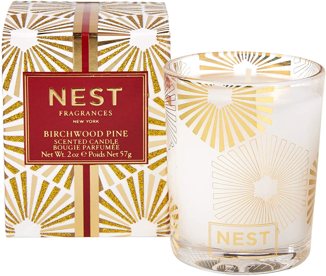 Nest Votive Candle Birchwood Pine