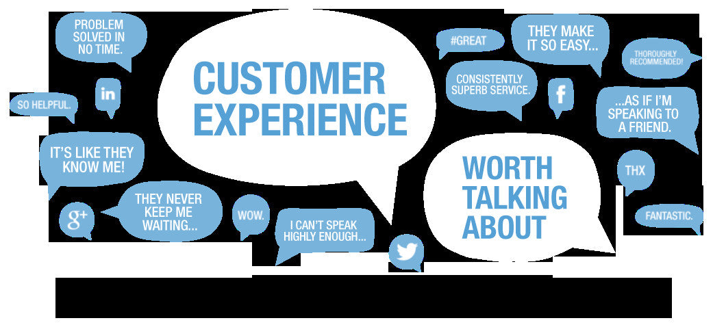 A Customer's Experience is what determines their Satisfaction.