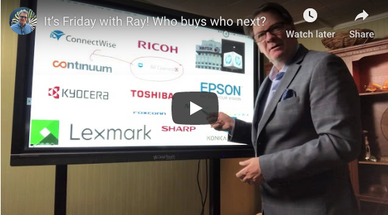 It's Friday with Ray! Who buys who next?