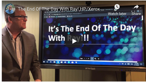The End Of The Day With Ray! HP/Xerox maybe there's more