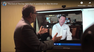The End of The Day With Ray! A question for Wes McArtor