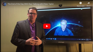 The End of the Day With Ray! Talking with Peter Taylor