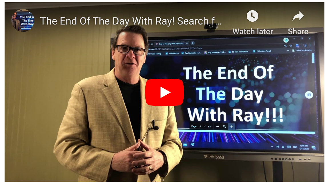 The End Of The Day With Ray! Search for the Painful Truth