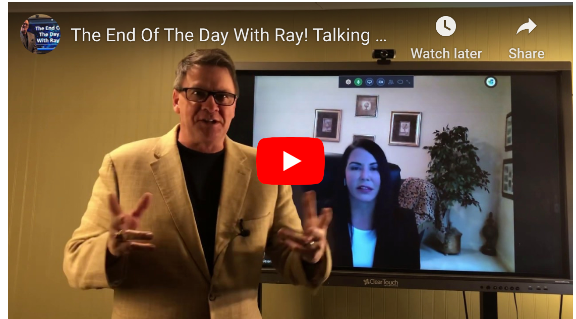 The End Of The Day With Ray! Talking with Laryssa Alexander