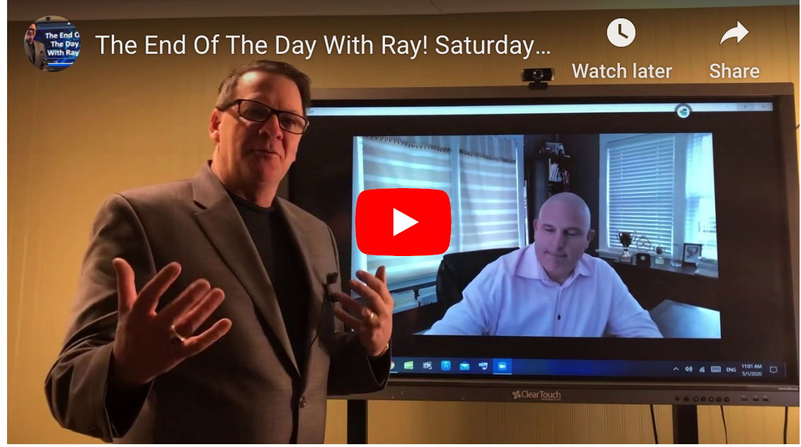 The End Of The Day With Ray! Saturday Special, Talking to Rick Lambert