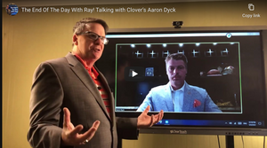 The End Of The Day With Ray! Talking with Clover's Aaron Dyck