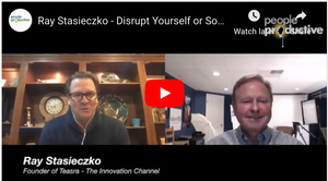 Ray Stasieczko - Disrupt Yourself or Something Else Will (Interview by Frank Wander)