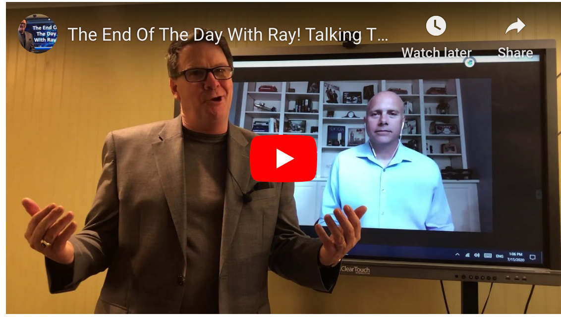 The End Of The Day With Ray! Talking The One - Off with Greg Kaplan