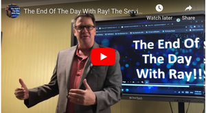 The End Of The Day With Ray! The Service Interruption Model Is Dead!
