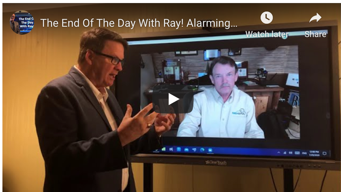 The End Of The Day With Ray! Alarming DATA!!!!