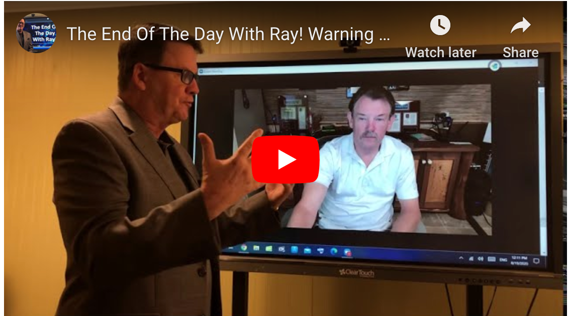 The End Of The Day With Ray! Warning from the Future. Talking with Wes McArtor