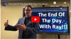 The End Of The Day With Ray! It's about more than a Hole!