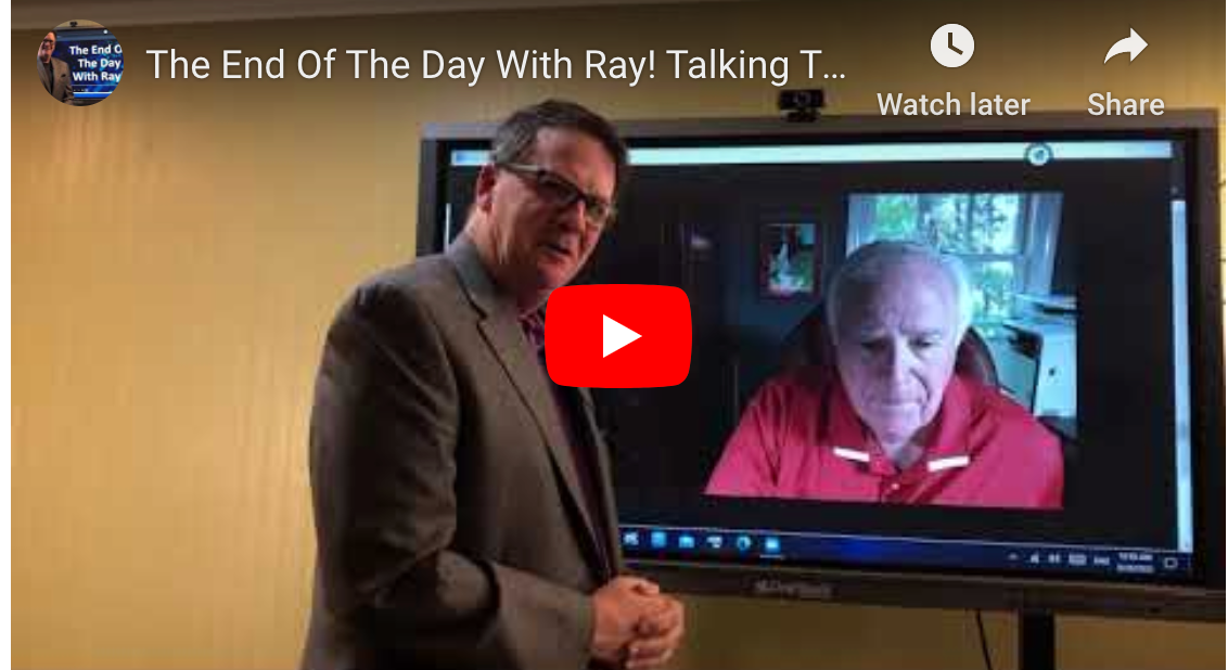 The End Of The Day With Ray! Talking Transformation with Ed McLaughlin
