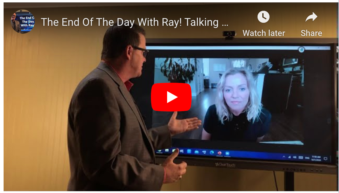 The End Of The Day With Ray! Talking with Canadian Star, Cheryl Weedmark