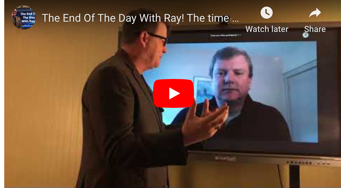 The End Of The Day With Ray! The time to understand Clover Imaging's printer program is NOW!