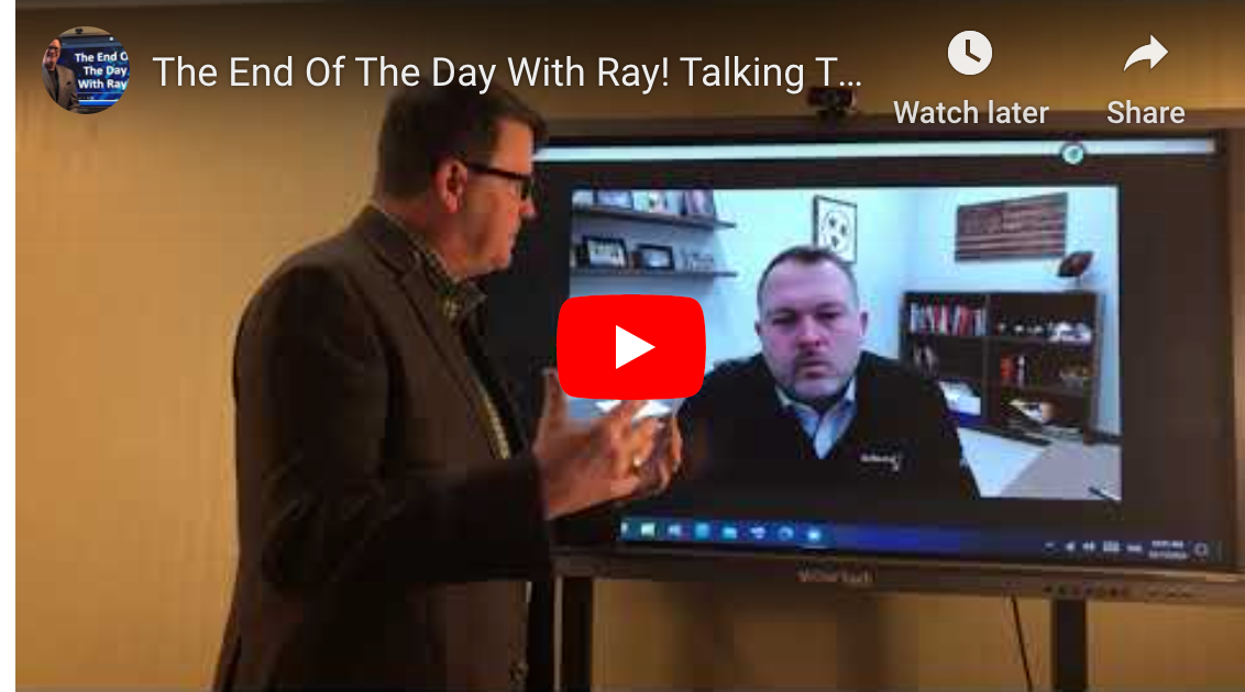 The End Of The Day With Ray! Talking Transition Success With AJ Baggott of RJ Young