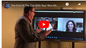 The End Of The Day With Ray! Wes McArtor's Big Announcement