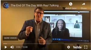 The End Of The Day With Ray! Talking with Business Coach Simone Sloan