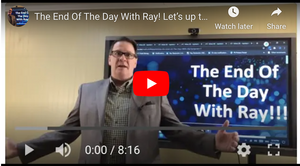 The End Of The Day With Ray! Let's up the game, from Lysol as a Service to 'Experts as a Service