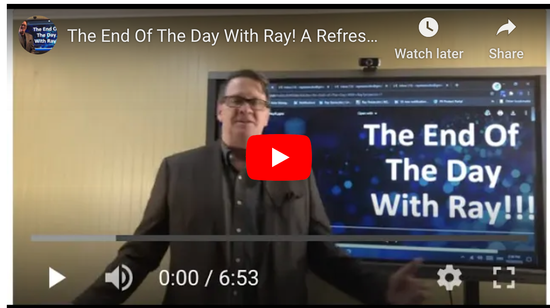 The End Of The Day With Ray! A Refresher on Staples, DEX, and Amazon