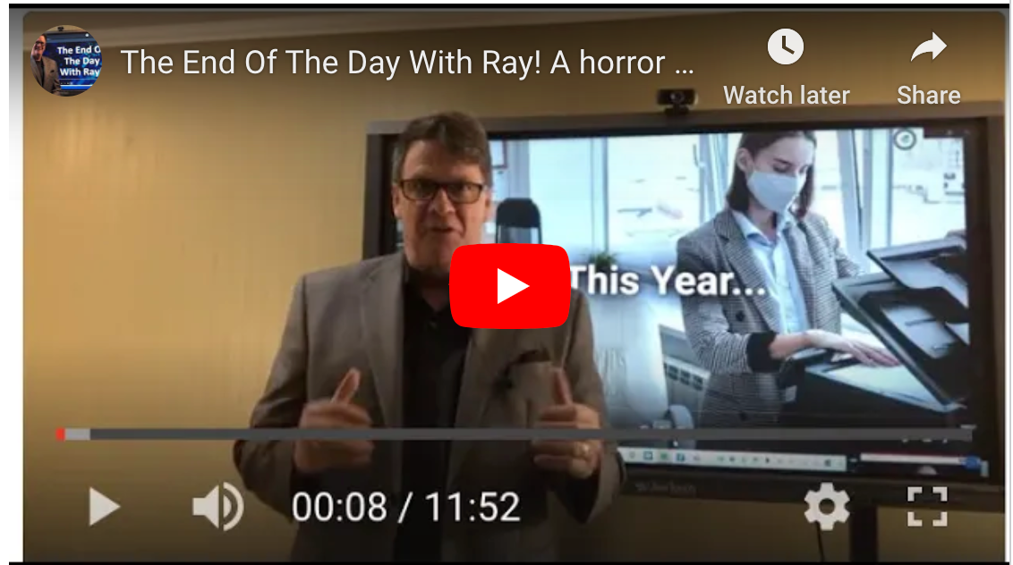 The End Of The Day With Ray! A horror movie to scare some in the industry to DEATH. Happy Halloween!