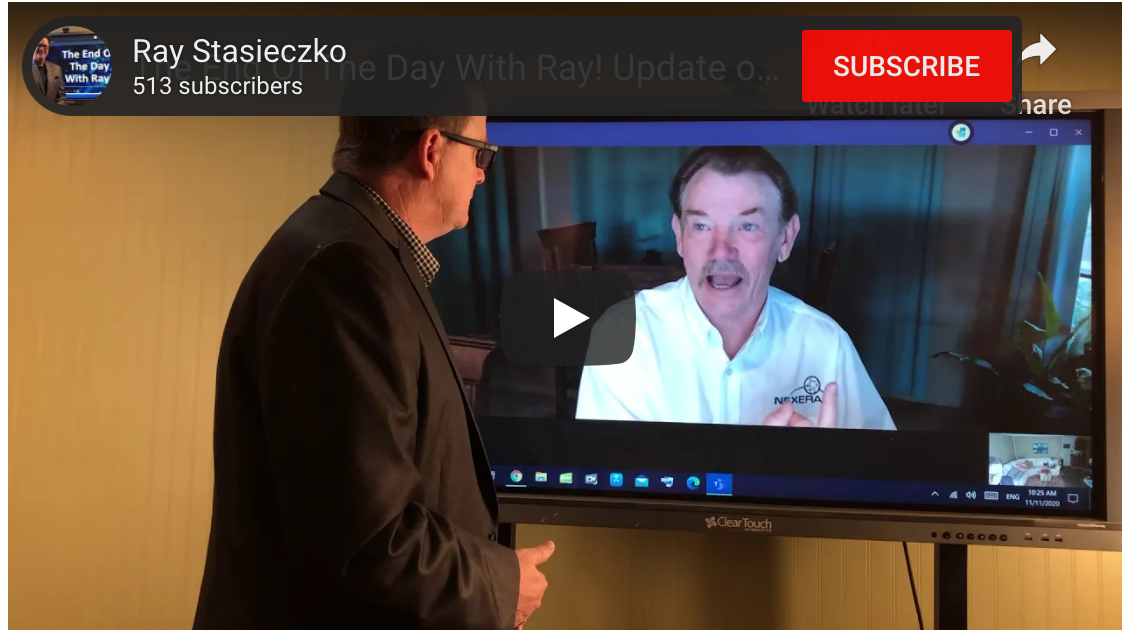 The End Of The Day With Ray! Update on the Numbers with Wes McArtor