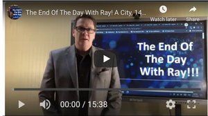 The End Of The Day With Ray! A City, 14 copiers and a possible squandered opportunity